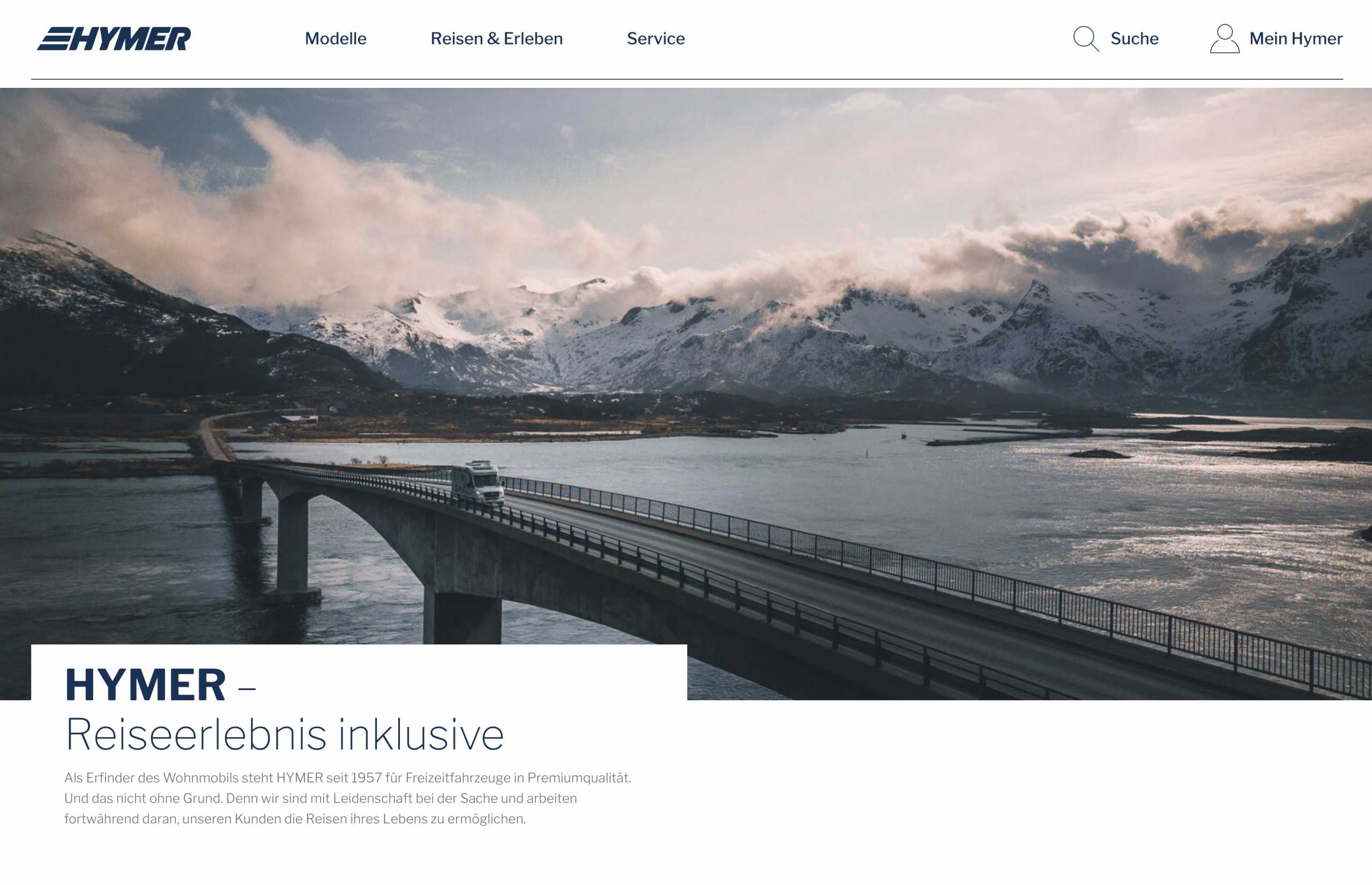 Hymer Homepage 3